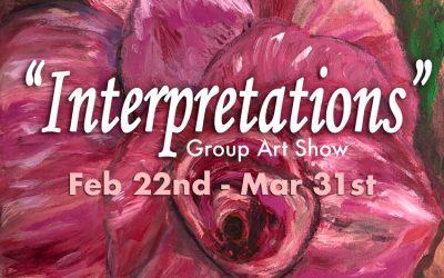 """Feb-Mar 2019: """"Interpretations"""""""