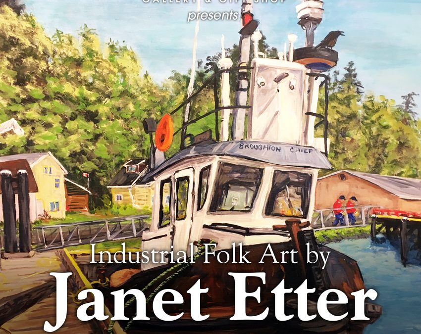 "Jul-Aug 2018: ""Guest Artist: Janet Etter"""