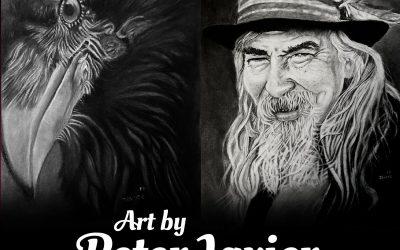"""Jul 2018: """"Guest Artist: Peter Javier"""""""