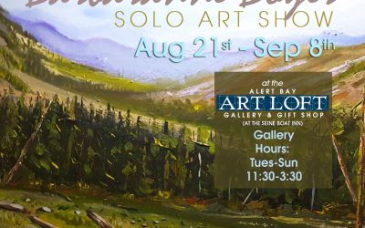 "Aug 20 – Sep 8 2019: ""The Art of Barbaranne Boyer"""