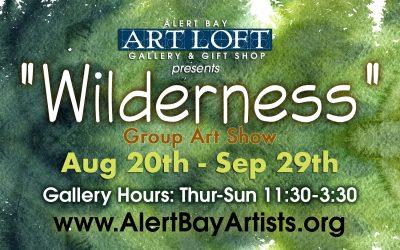 "Aug 20 – Sep 29 2019: ""Wilderness"""
