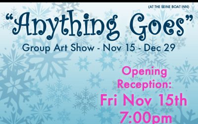 "Nov15-Dec29 – ""Anything Goes"" Group Show"
